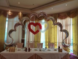 Декор квартиры на свадьбу оригинально