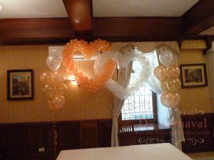 Декор квартиры на свадьбу недорого