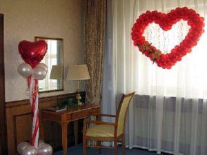 Декор квартиры для свадьбы в Москве