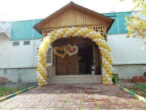 Декор на свадьбу аркой из шаров недорого