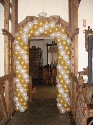 Декор на свадьбу аркой из шаров дешево