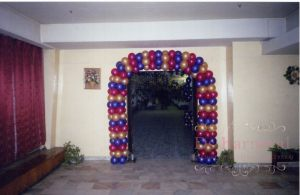 Украшение свадьбы аркой из шаров фото и цены