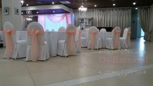 банты на стулья для свадеб оригинально