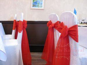 банты на стулья для свадьбы недорого в Москве