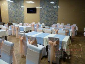 банты на стулья для свадеб фото