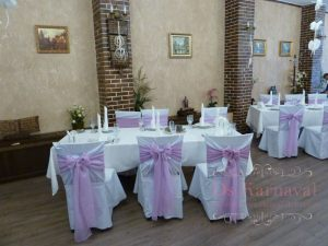 банты для стульев для свадьбы в Москве