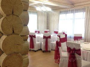 банты на стулья для свадьбы фото