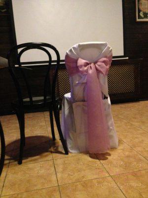 банты на стулья на свадьбу недорого в Москве