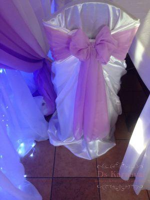 банты на стулья для свадеб цены