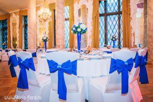 банты на стулья для свадьбы красиво