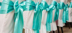 банты для стульев на свадьбу недорого