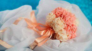 букет дублер на свадьбу дешево