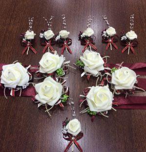 бутоньерки на свадьбу красиво