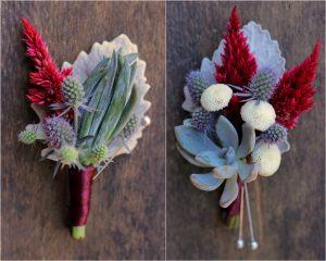 бутоньерка из цветов для свадьбы недорого