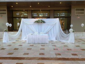 Декор на свадьбу в цвете айвори цены