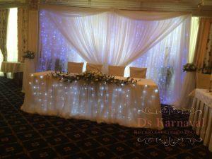 Декор на свадьбу в цвете айвори красиво