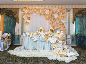 Украшение свадьбы в цвете айвори недорого