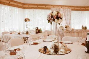 Оформление свадьбы в цвете айвори оригинально