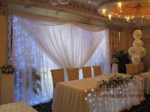 Оформление на свадьбу в цвете айвори недорого в Москве
