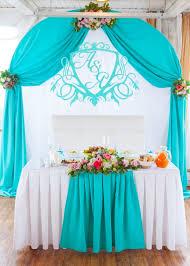 Украшение свадеб в цвете аквамарин недорого
