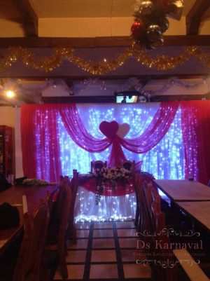 Оформление свадеб в алом цвете недорого