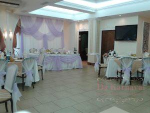 Оформление на свадьбу в белом цвете оригинально