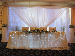Декор свадеб в белом цвете дешево