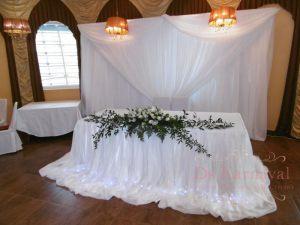 Украшение на свадьбу в белом цвете недорого цены