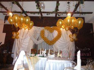 Украшение на свадьбу в белом цвете оригинально