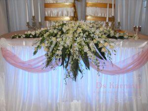 Декор свадьбы в белом цвете в Москве