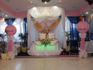 Декор на свадьбу в белом цвете недорого в Москве