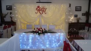Декор на свадьбу в белом цвете цены