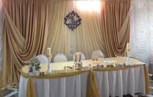Декор свадьбы в бежевом цвете фото