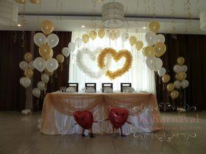 Оформление свадьбы в бежевом цвете недорого в Москве