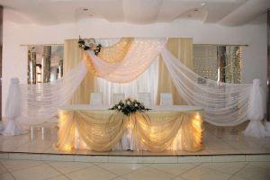 Оформление свадеб в бежевом цвете недорого цены
