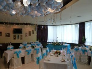 Декор свадьбы в бирюзовом цвете недорого цены