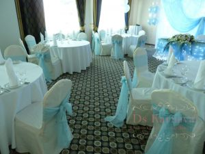 Декор на свадьбу в бирюзовом цвете недорого