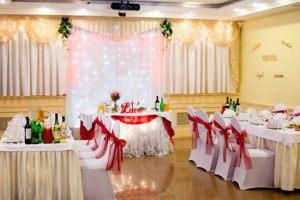 Декор свадьбы в бордовом цвете цены