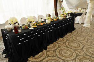 Декор на свадьбу в черном цвете дешево