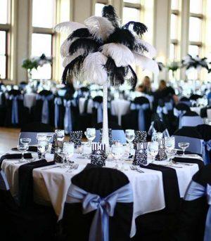 Оформление свадьбы в черном цвете дешево