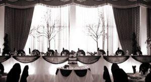 Оформление свадеб в черном цвете недорого в Москве