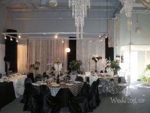 Оформление свадеб в черном цвете недорого