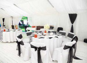 Оформление на свадьбу в черном цвете фото и цены