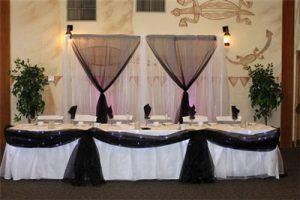 Декор свадеб в черном цвете красиво