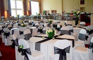 Декор на свадьбу в черном цвете в Москве