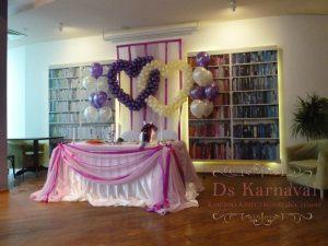 Оформление свадеб в фиолетовом цвете фото и цены