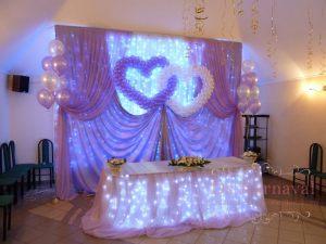 Декор свадеб в фиолетовом цвете красиво