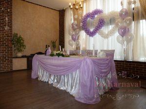 Декор свадеб в фиолетовом цвете оригинально