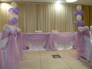 Украшение свадеб в фиолетовом цвете фото и цены