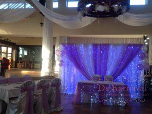 Украшение свадеб в фиолетовом цвете оригинально
